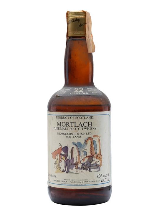Mortlach 1957 / 22 Year Old Speyside Single Malt Scotch Whisky
