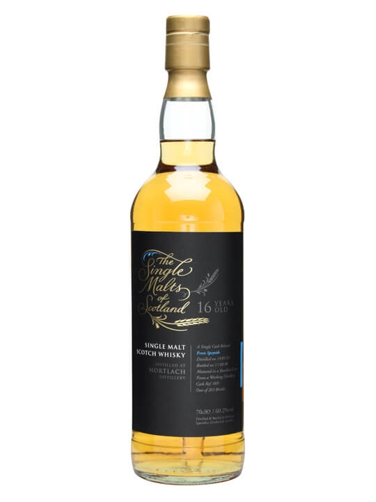 Mortlach 1993 / 16 Year Old / Single Malts Of Scotland Speyside Whisky