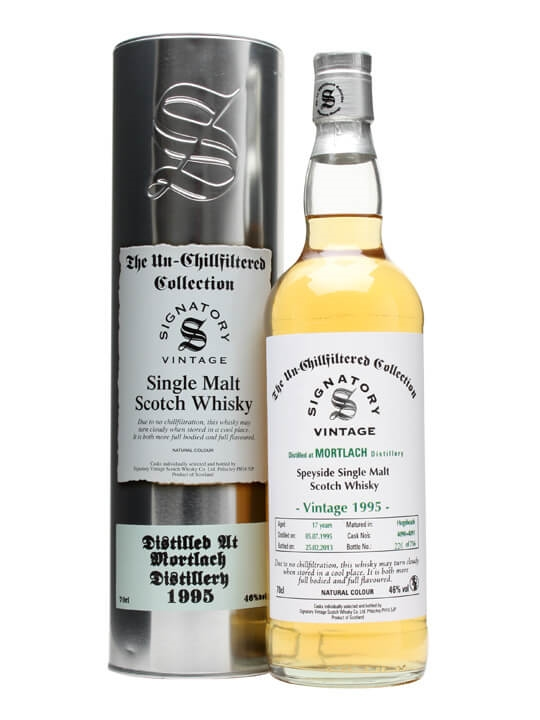 Mortlach 1995 / 17 Year Old / Casks #4090+1 / Signatory Speyside Whisky