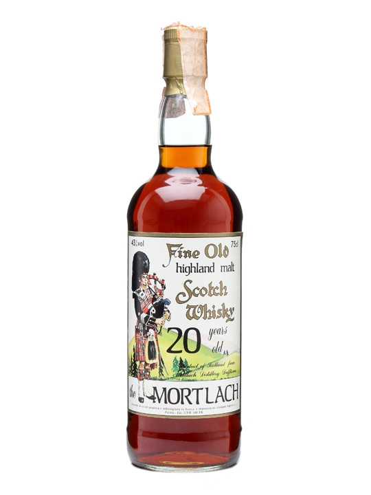 Mortlach 20 Year Old / Bot.1980s / Sestante Speyside Whisky