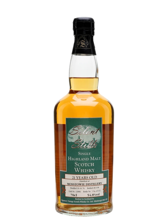Mosstowie 1976 / 21 Year Old / Silent Stills Speyside Whisky