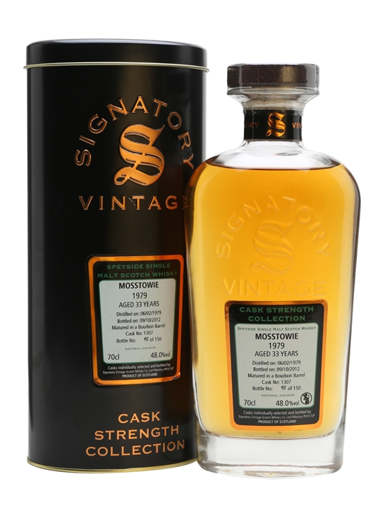 Mosstowie 1979 / 33 Year Old / Cask #1307 / Signatory Speyside Whisky