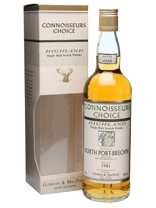 North Port Brechin 1981 / Connoisseurs Choice / Bot.1998 Highland Whisky