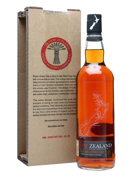 New Zealand Doublewood 10 Year Old New Zealand Single Malt Whisky