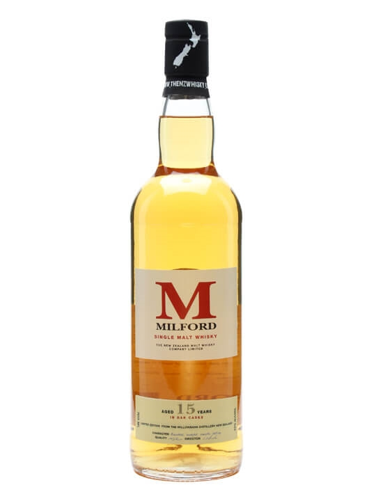 Milford 15 Year Old New Zealand Single Malt Whisky