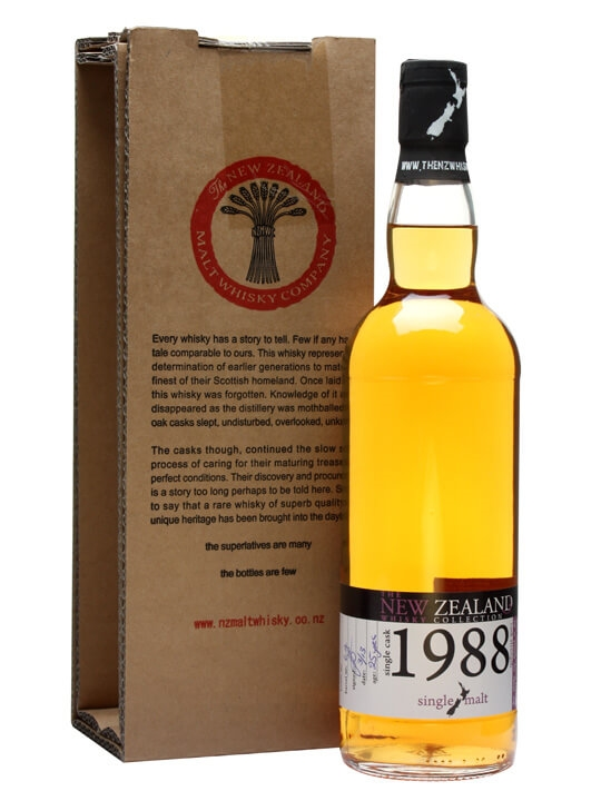 New Zealand 1988 / 25 Year Old / Cask #64 Single Whisky