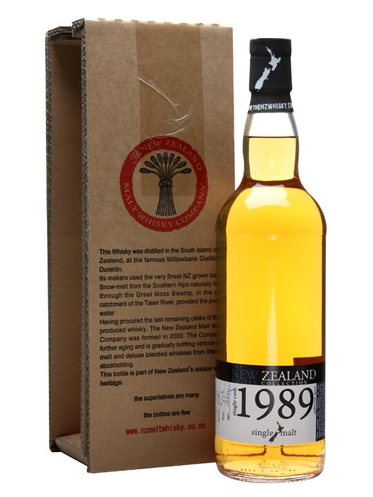 New Zealand 1989 / 22 Year Old / Cask #58 New Whisky