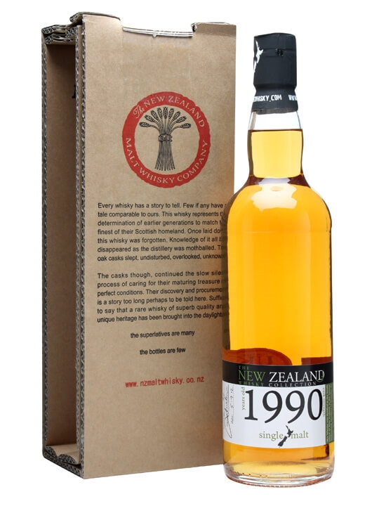 New Zealand 1990 / Cask #90 New Zealand Single Malt Whisky