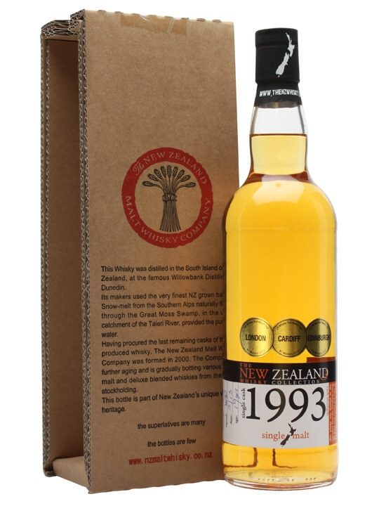 New Zealand 1993 / Cask #21 New Zealand Single Malt Whisky