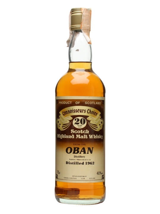 Oban 1962 / 20 Year Old / Connoisseurs Choice Highland Whisky
