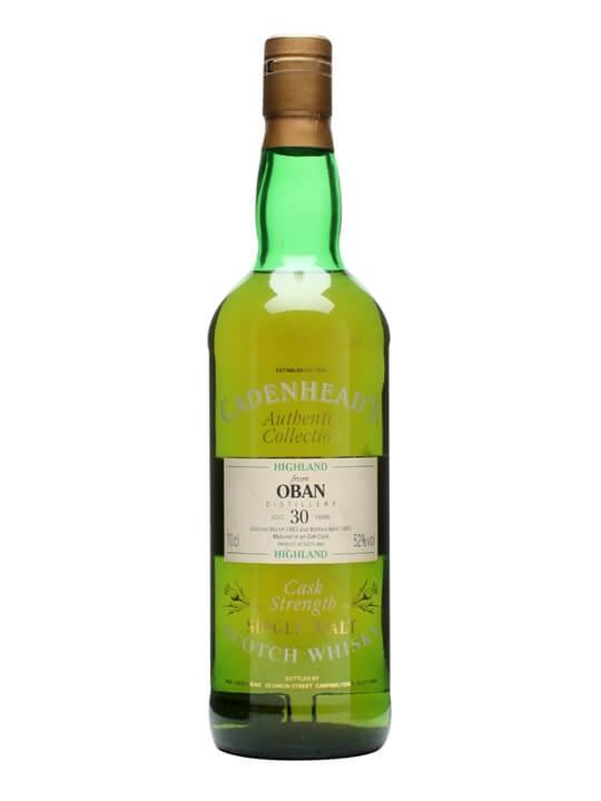 Oban 1963 / 30 Year Old / Cadenhead's Highland Whisky