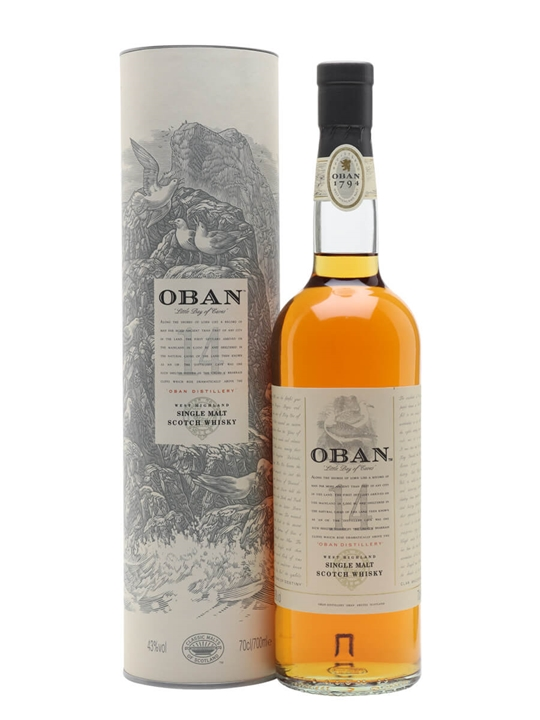Oban 14 Year Old Highland Single Malt Scotch Whisky