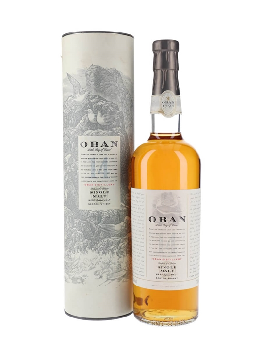 Oban 14 Year Old / Old Presentation Highland Single Malt Scotch Whisky