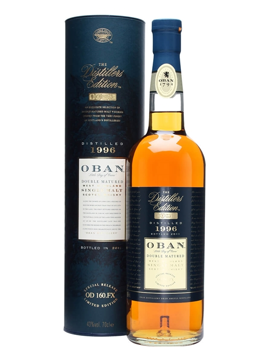 Oban 1996 / Distillers Edition Highland Single Malt Scotch Whisky