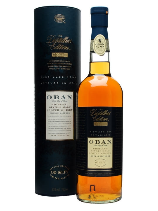 Oban 1997 / Distillers Edition Highland Single Malt Scotch Whisky