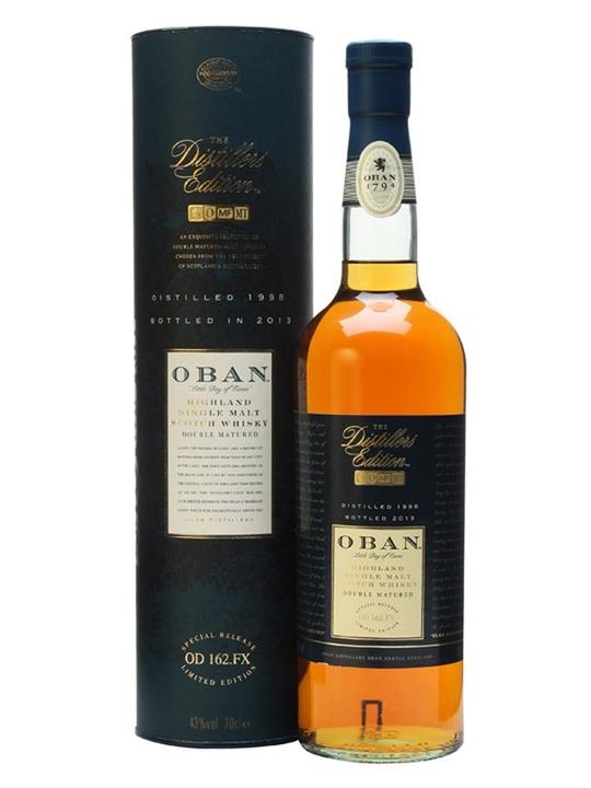 Oban 1998 / Distillers Edition Highland Single Malt Scotch Whisky