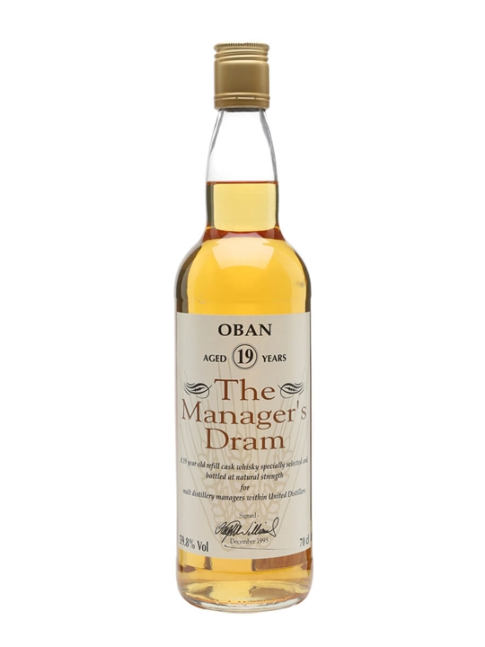 Oban 19 Year Old / Manager's Dram Highland Single Malt Scotch Whisky