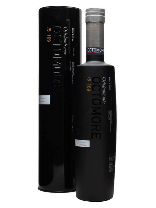 Octomore 5 Year Old / Edition 05.1 / 169ppm Islay Whisky