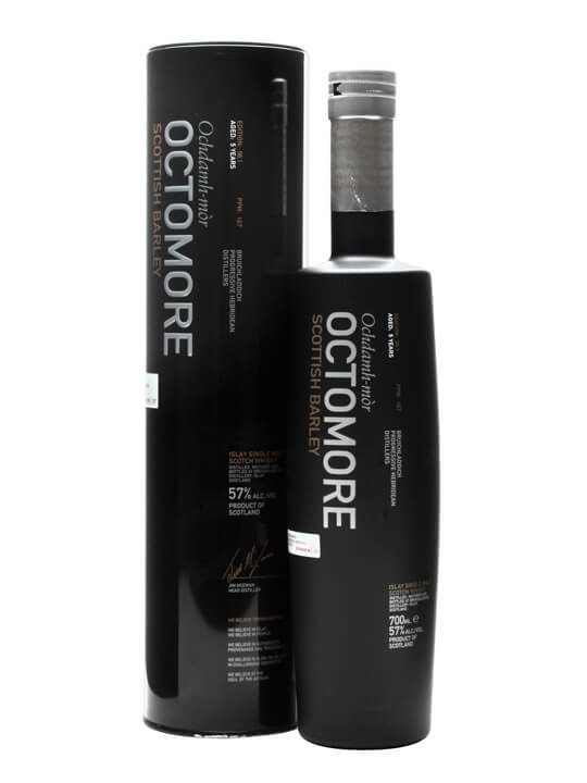 Octomore 5 Year Old / Scottish Barley / Edition 06.1 Islay Whisky