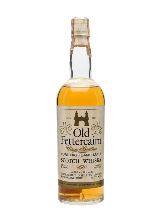 Old Fettercairn 8 Year Old / Bot.1970s Highland Single Malt Whisky