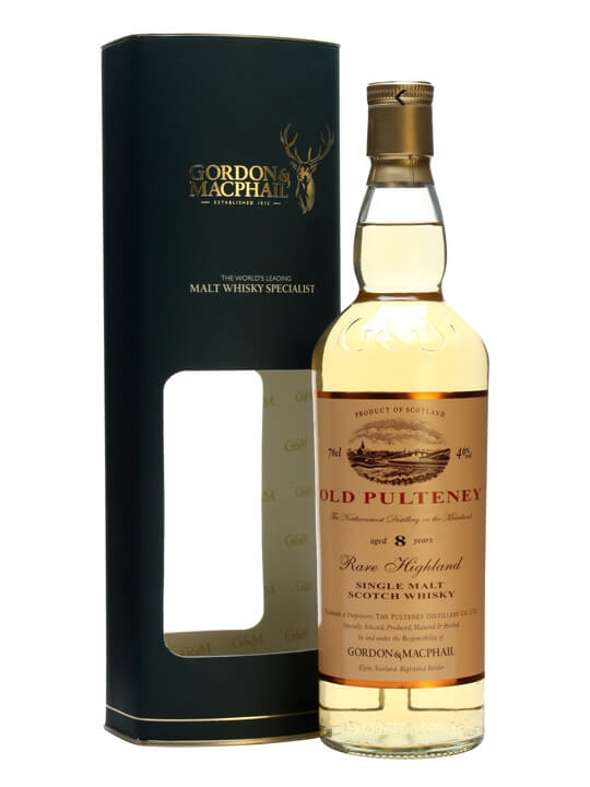 Old Pulteney 8 Year Old / Gordon & Macphail Highland Whisky