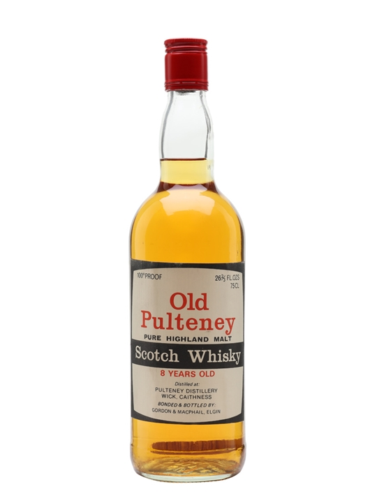 Old Pulteney 8 Year Old / Bot.1970s Highland Single Malt Scotch Whisky