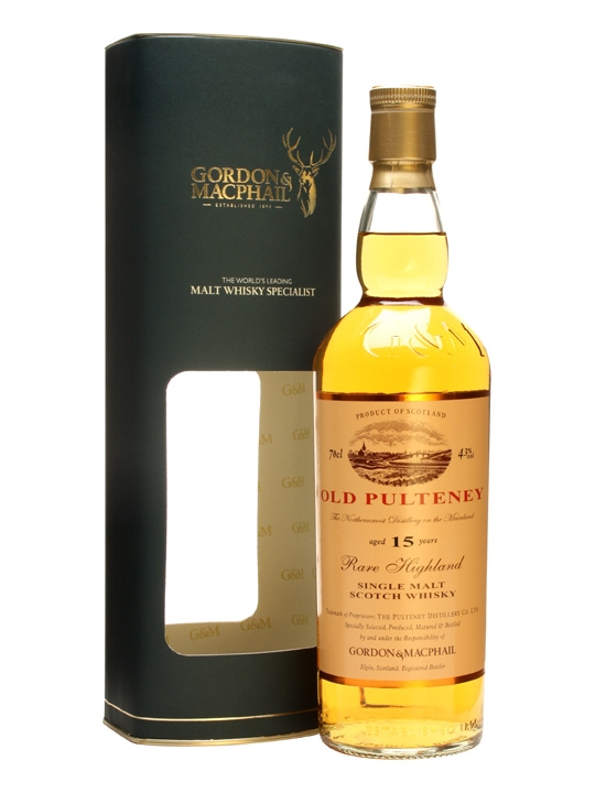 Old Pulteney 15 Year Old / Gordon & Macphail Highland Whisky