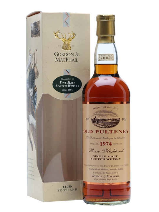 Old Pulteney 1974 / Gordon & Macphail Highland Whisky