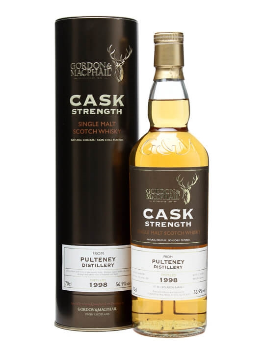 Pulteney 1998 / Cask Strength / Gordon & Macphail Highland Whisky