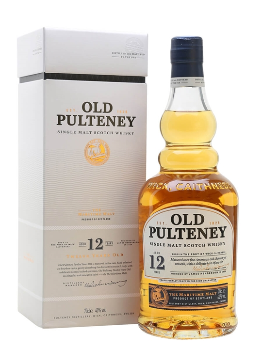 Old Pulteney 12 Year Old Highland Single Malt Scotch Whisky