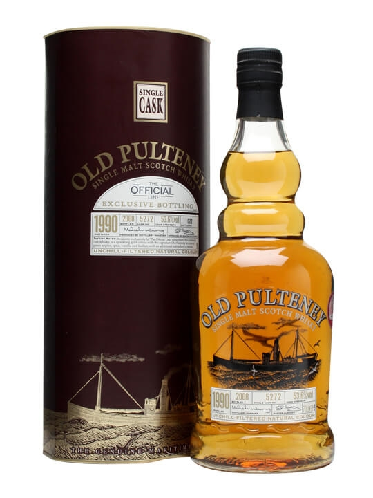 Old Pulteney 1990 / Cask #5272 Highland Single Malt Scotch Whisky