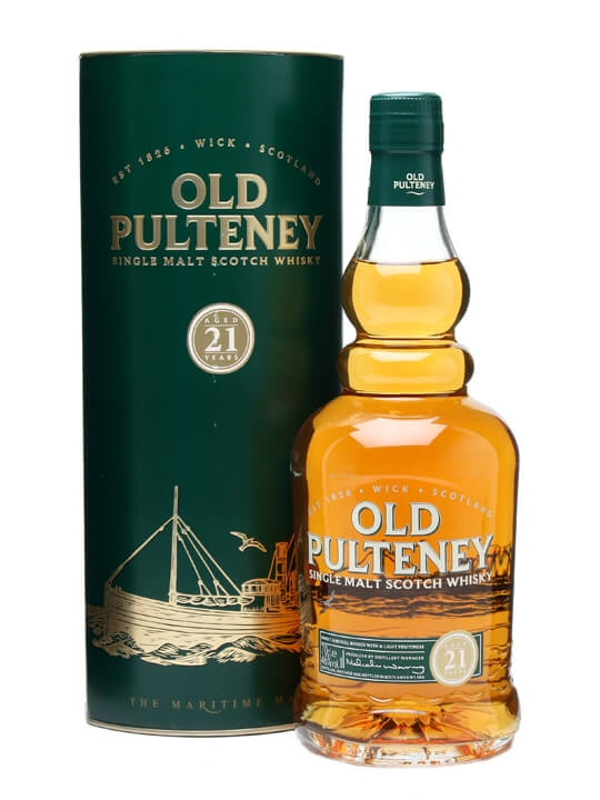 Old Pulteney 21 Year Old Highland Single Malt Scotch Whisky