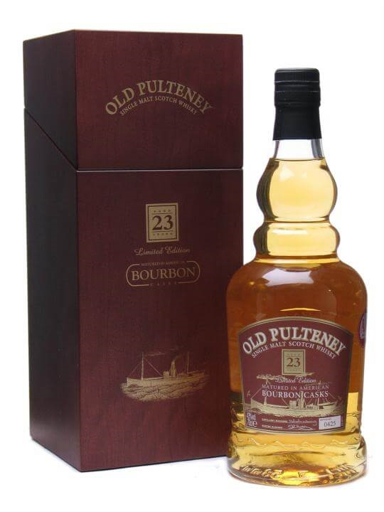 Old Pulteney 23 Year Old / Bourbon Casks Highland Whisky