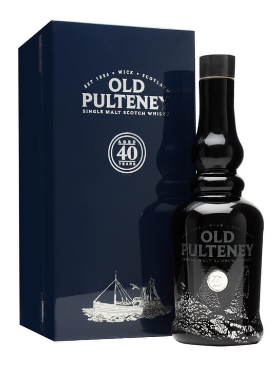 Old Pulteney 40 Year Old Highland Single Malt Scotch Whisky