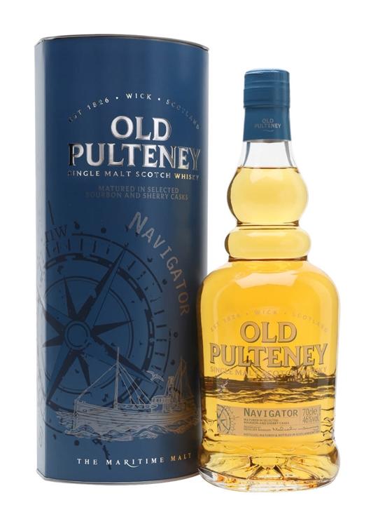 Old Pulteney Navigator Highland Single Malt Scotch Whisky
