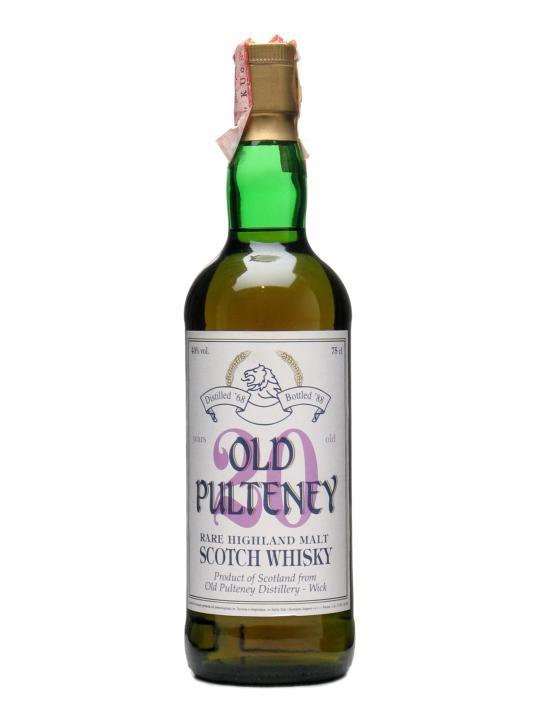 Old Pulteney 1968 / 20 Year Old Highland Single Malt Scotch Whisky