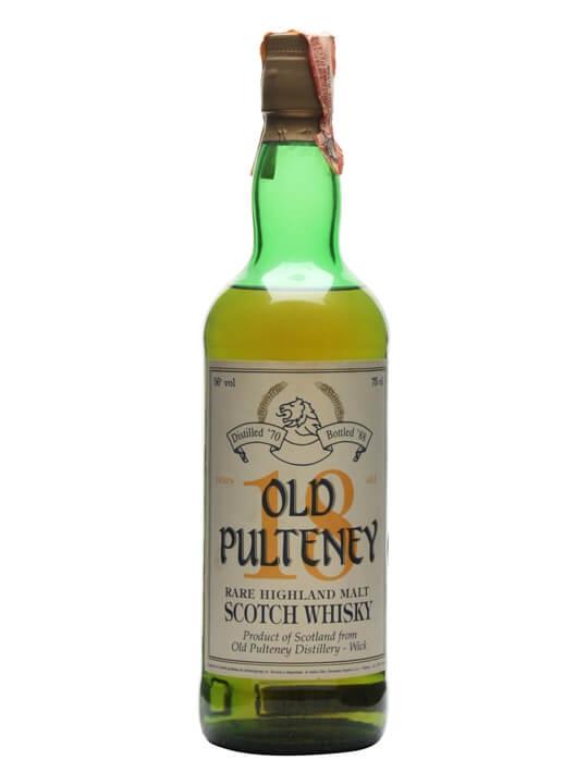 Old Pulteney 1970 / 18 Year Old Highland Single Malt Scotch Whisky