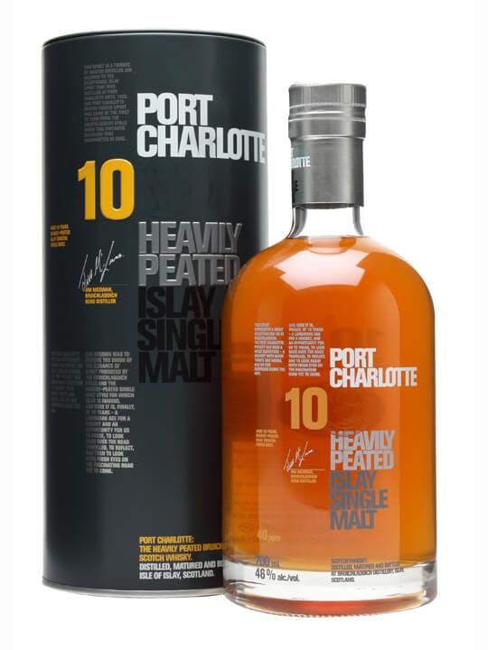 Port Charlotte 10 Year Old Islay Single Malt Scotch Whisky