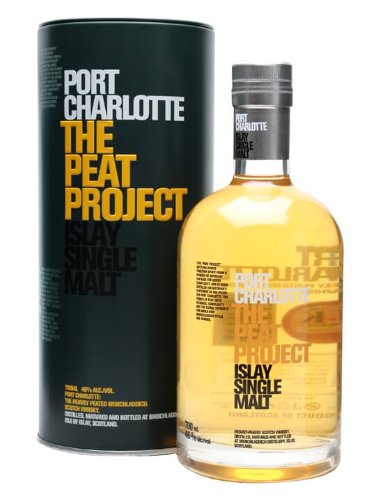 Port Charlotte / The Peat Project Islay Single Malt Scotch Whisky
