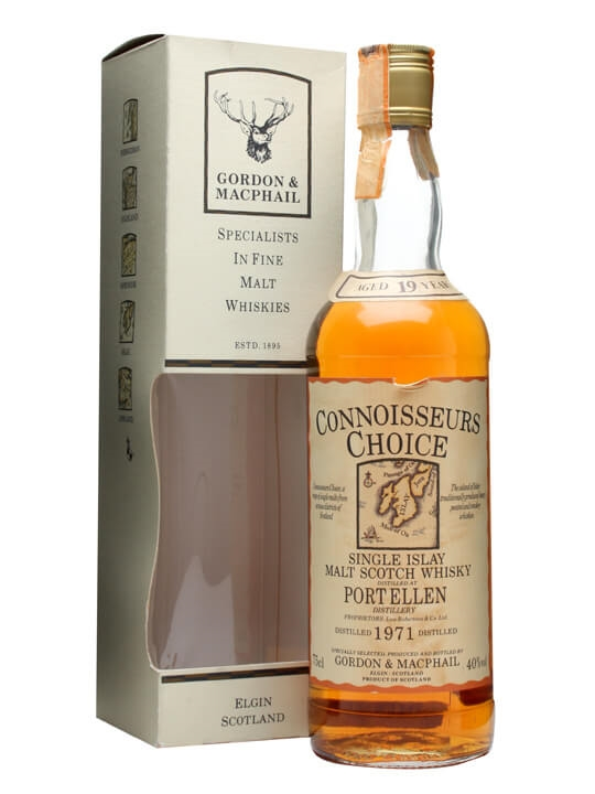 Port Ellen 1971 / 19 Year Old / Connoisseurs Choice Islay Whisky