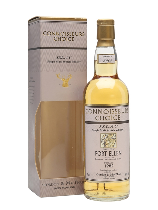 Port Ellen 1982 / Bot.2001 / Connoisseurs Choice Islay Whisky