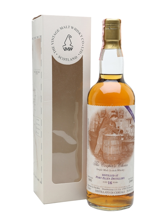 Port Ellen 1983 / 16 Year Old / The Cooper's Choice Islay Whisky
