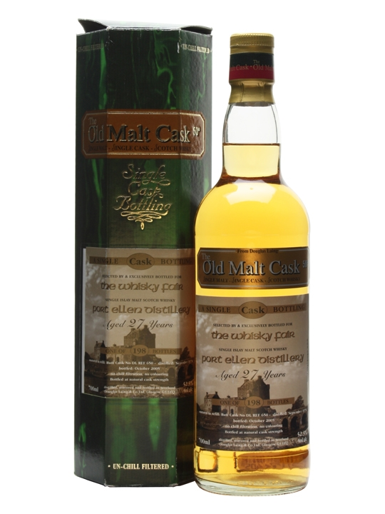 Port Ellen 1978 / 27 Year Old / The Whisky Fair Islay Whisky