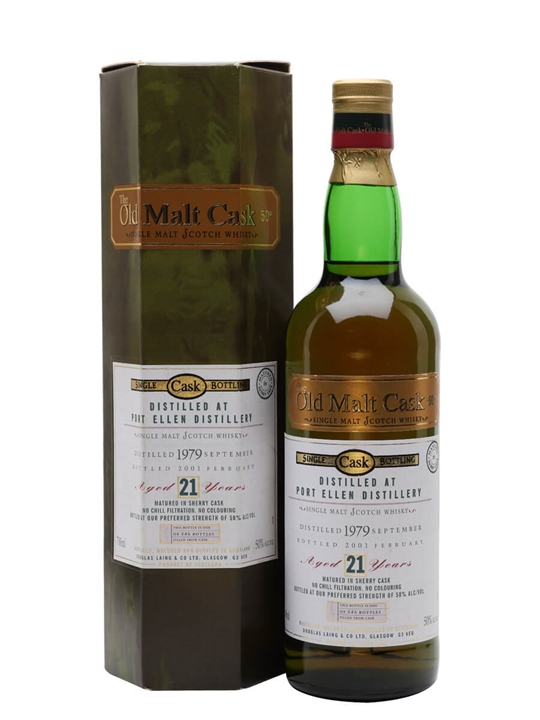 Port Ellen 1979 / 21 Year Old / Sherry Cask Islay Whisky