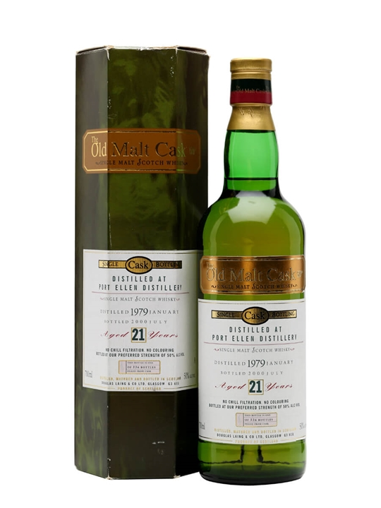 Port Ellen 1979 / 21 Year Old Islay Single Malt Scotch Whisky