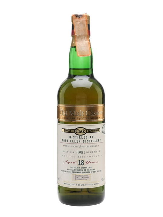 Port Ellen 1981 / 18 Year Old / Sherry Cask Islay Whisky
