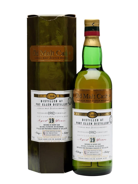 Port Ellen 1982 / 19 Year Old / Sherry Cask / Old Malt Cask Islay Whisky
