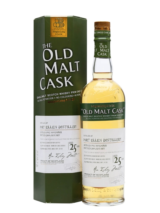 Port Ellen 1982 / 25 Year Old Islay Single Malt Scotch Whisky