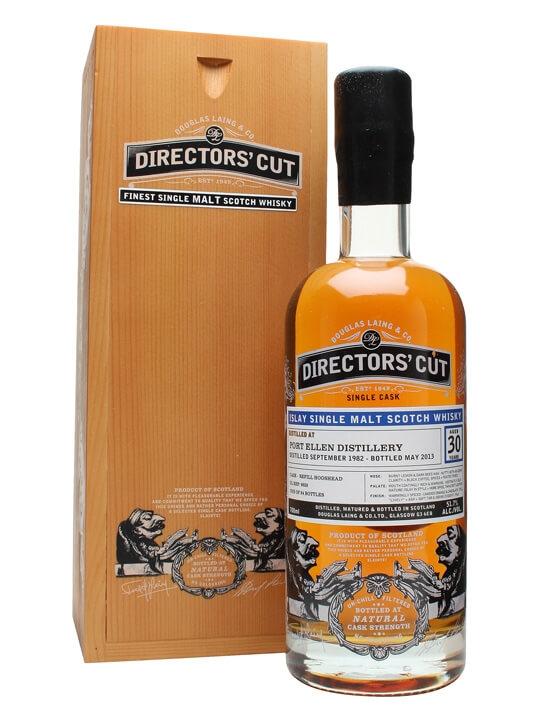 Port Ellen 1982 / 30 Year Old / Cask #9828 / Douglas Laing Islay Whisky