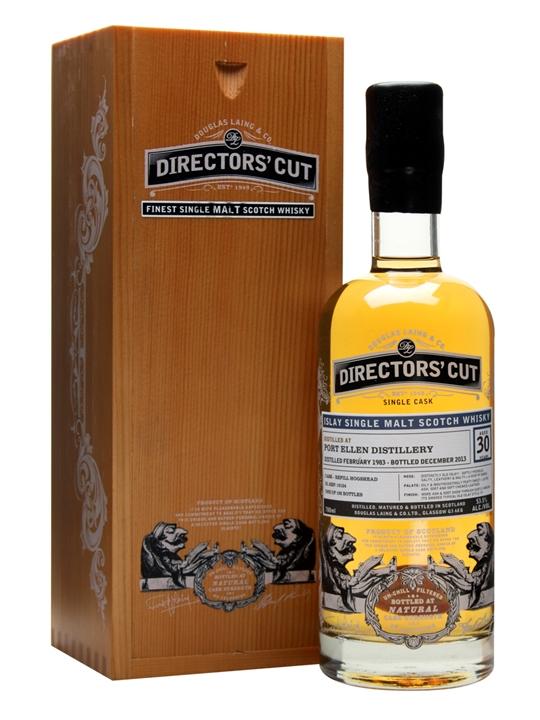 Port Ellen 1983 / 30 Year Old / Douglas Laing Director's Cut Islay Whisky